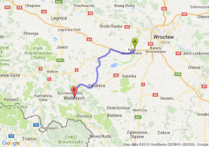 Trasa Kąty Wrocławskie - Wałbrzych