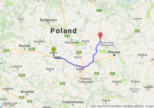 Trasa Konin - Płońsk