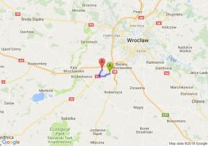Trasa Tyniec Mały - Biskupice Podgórne