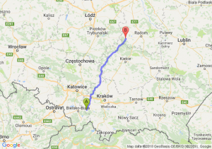 Trasa Andrychów - Przysucha