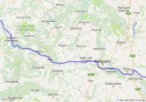 Lipno (kujawsko-pomorskie) - Resko (zachodniopomorskie)