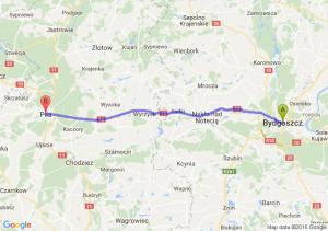 Bydgoszcz (kujawsko-pomorskie) - Piła (wielkopolskie)