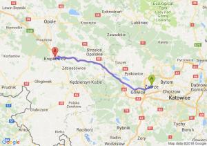 Trasa Zabrze - Krapkowice