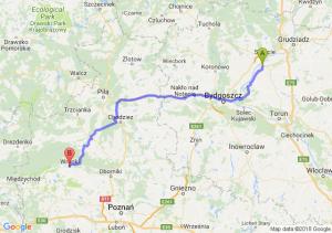 Trasa Chełmno - Wronki