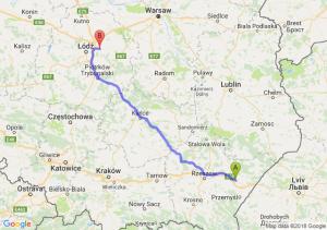 Trasa Jarosław - Brzeziny