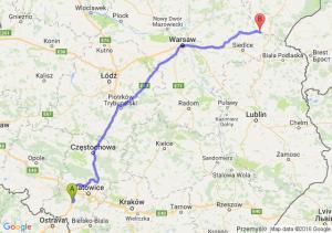 Czerwionka-Leszczyny (śląskie) - Drohiczyn (podlaskie)