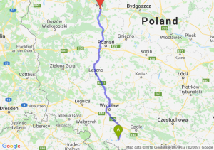 Trasa Nysa - Piła