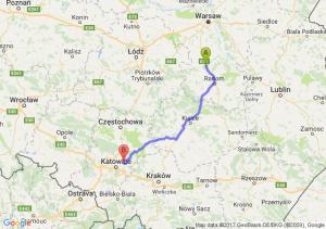 Trasa Białobrzegi - Dąbrowa Górnicza