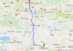 Andrychów - Mysłowice