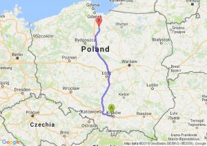 Trasa Balice - Kwidzyn