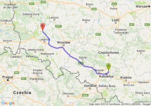 Trasa Będzin - Polkowice