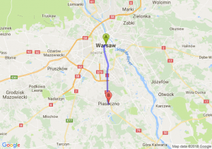 Warszawa - Piaseczno