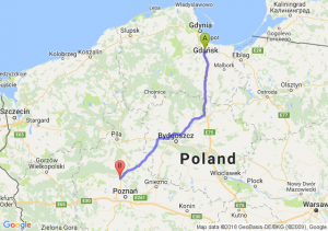 Pruszcz Gdański - Oborniki