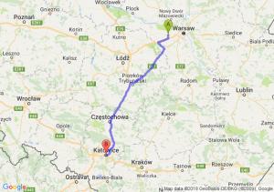 Trasa Błonie - Katowice