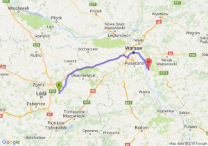 Trasa Brzeziny - Karczew