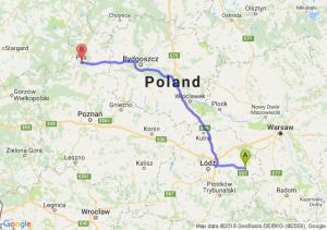 Trasa Rawa Mazowiecka - Piła