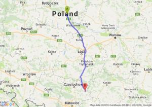 Trasa Ciechocinek - Lelów
