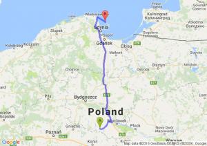 Piotrków Kujawski (kujawsko-pomorskie) - Jastarnia (pomorskie)
