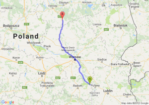 Trasa Bąkowiec - Nidzica