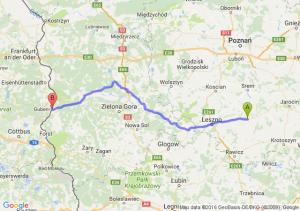 Gostyń (wielkopolskie) - Gubin (lubuskie)