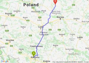 Trasa Bytom - Ciechanów