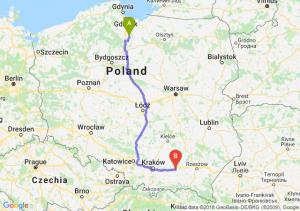 Trasa Gniew - Tarnów