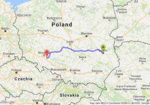 Trasa Lublin - Oława