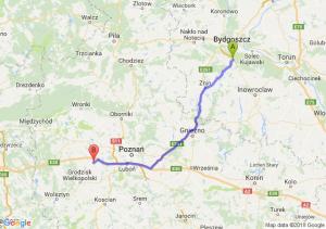 Trasa Brzoza (koło Bydgoszczy) - Buk