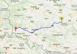 Trasa Rzgów - Lubań