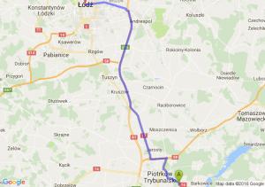 Poniatów (łódzkie) - Łódź (łódzkie)