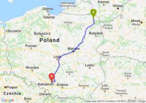 Trasa Suwałki - Bytom