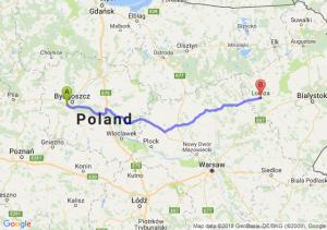 Trasa Białe Błota - Łomża