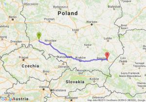 Trasa Chojnów - Przeworsk