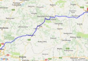 Siemianowice Śląskie (śląskie) - Lublin (lubelskie)
