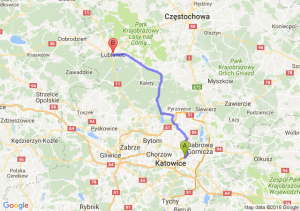 Sosnowiec (śląskie) - Lubliniec (śląskie)