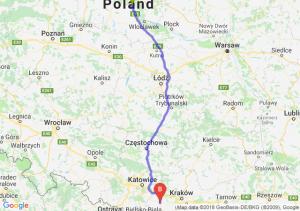 Trasa Ciechocinek - Zator