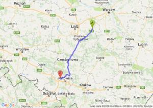 Trasa Rawa Mazowiecka - Zabrze