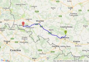 Pyrzowice - Jelenia Góra