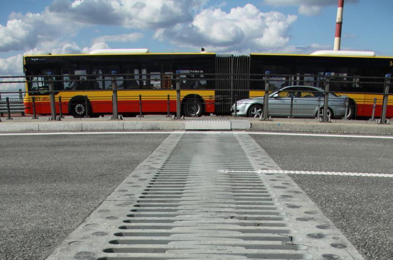 Trasa AK w warszawie, most Grota, droga S8